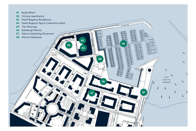 Flat for sale in Royal Wharf, Edinburgh Marina, Edinburgh