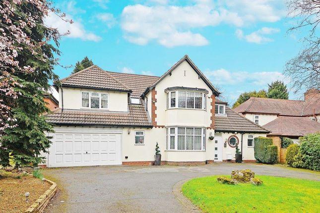 Thumbnail Detached house for sale in Croftdown Road, Harborne, Birmingham