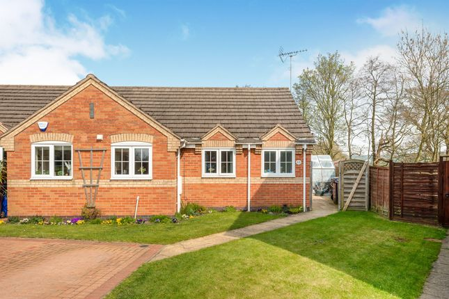 Thumbnail Semi-detached bungalow for sale in Woodseat Grove, Rocester, Uttoxeter