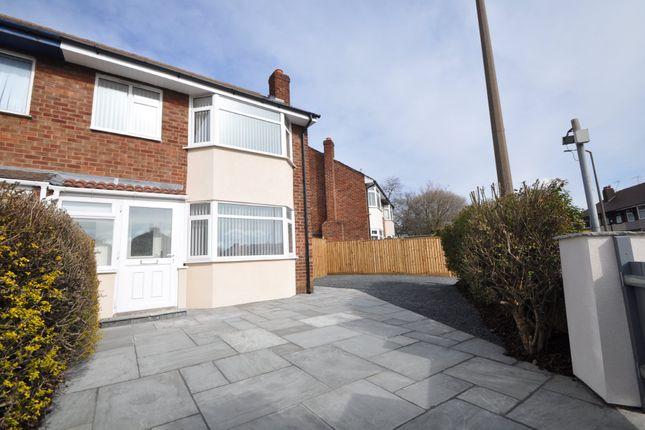 Thumbnail Semi-detached house for sale in Poulton Road, Wallasey