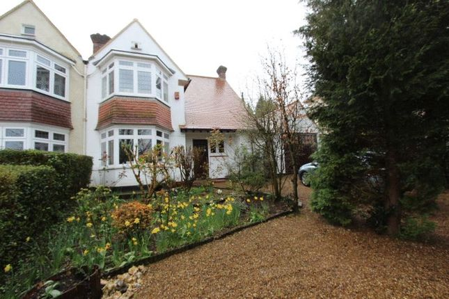 Thumbnail Semi-detached house for sale in The Warren, Carshalton