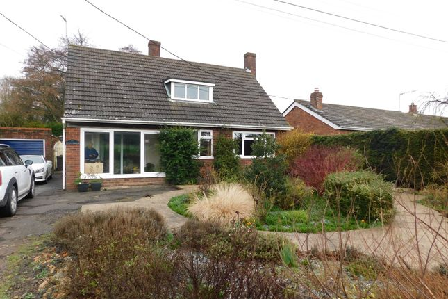 Thumbnail Detached bungalow for sale in Combs Lane, Great Finborough, Stowmarket
