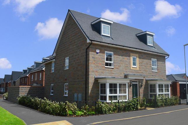 "Thumbnail Detached house for sale in ""Stratford"" at Warkton Lane, Barton Seagrave, Kettering"
