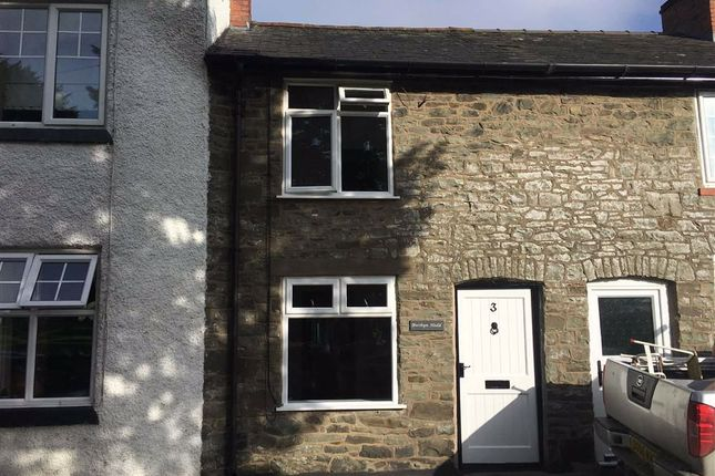 Thumbnail Terraced house to rent in 3, Church View, Bwthyn Hedd, Llanfechain, Powys