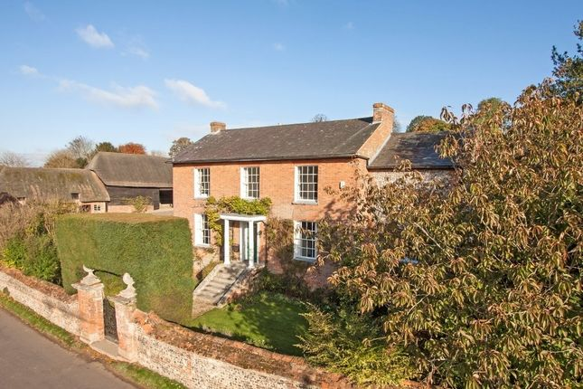 Thumbnail Farmhouse for sale in Parsonage Farmhouse (Lot 1A), Hurstbourne Tarrant, Andover, Hampshire