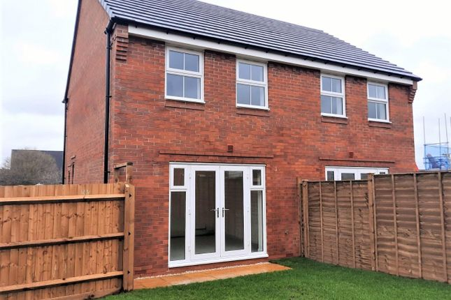 2 bed semi-detached house to rent in Wakelin Way, Lichfield WS13