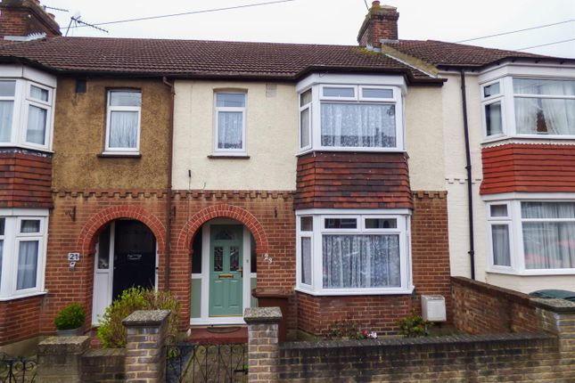 Thumbnail Terraced house for sale in Ewart Road, Chatham, Kent
