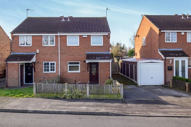 Thumbnail Semi-detached house for sale in St. Andrews Close, Bulwell, Nottingham