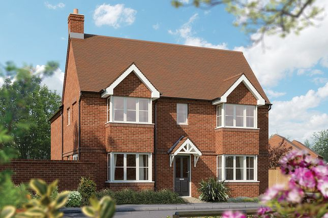 """Thumbnail Semi-detached house for sale in """"The Sheringham"""" at Drake Street, Welland, Malvern"""