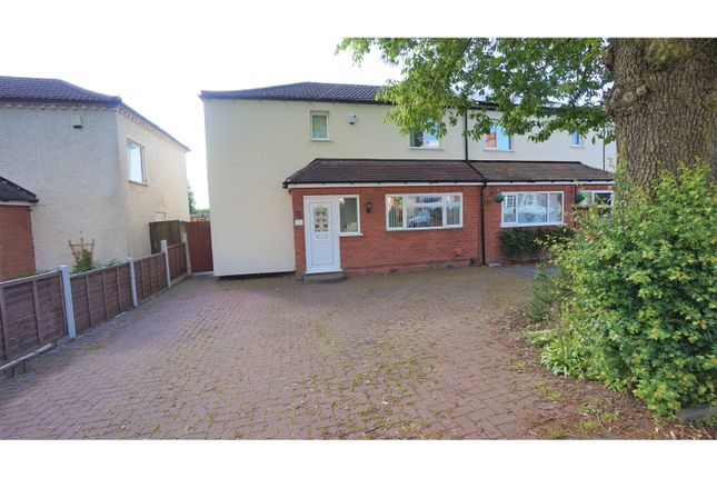 Thumbnail Semi-detached house for sale in Withy Hill Road, Sutton Coldfield