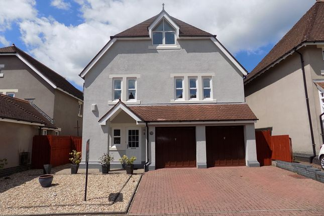 Thumbnail Detached house for sale in Preswylfa Court, Merthyr Mawr Road, Bridgend.