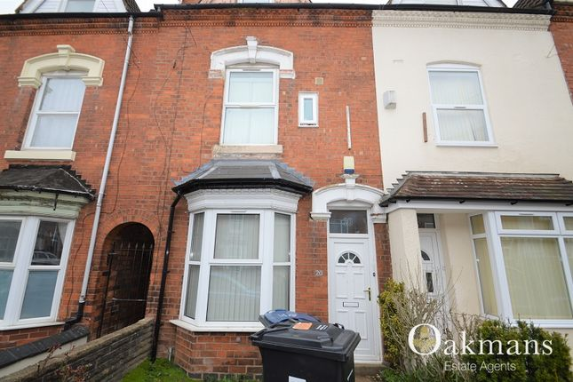 Thumbnail Terraced house for sale in Harrow Road, Birmingham, West Midlands.