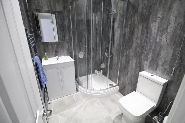 Shower Room of Moor Court, Fazakerley, Liverpool L10