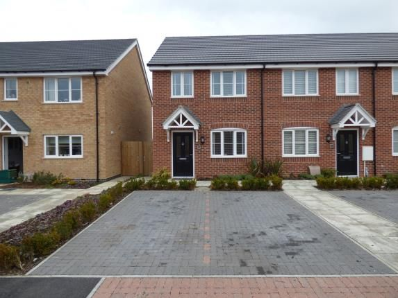 Thumbnail End terrace house for sale in Poppy Close, Countesthorpe, Leicester, Leicestershire