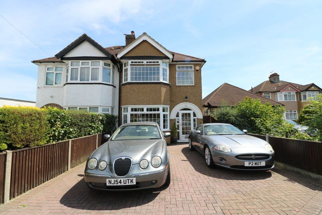 Thumbnail Semi-detached house for sale in Chaffinch Avenue, Shirley, Croydon