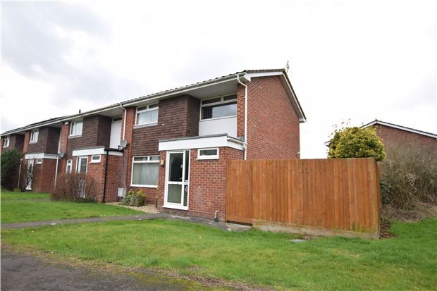 Thumbnail End terrace house for sale in Clydesdale Close, Bristol