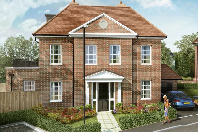 "Thumbnail Detached house for sale in ""The Cedar Collection Albertine"" at Elmbank Avenue, Arkley, Barnet"