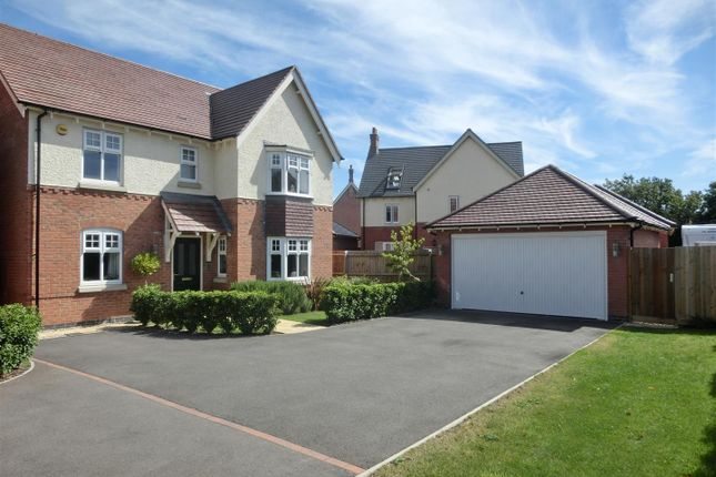 Thumbnail Detached house for sale in Harry Lane, Ibstock, Leicestershire