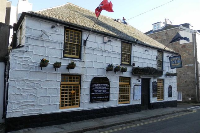 Thumbnail Commercial property for sale in Admiral Benbow, Chapel Street, Penzance
