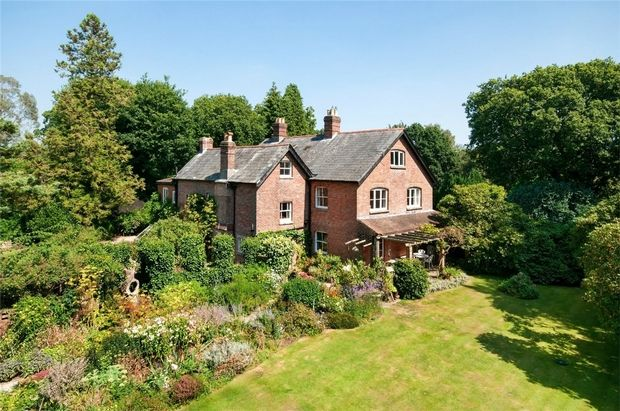 Thumbnail Detached house for sale in Bisterne Close, Burley, Ringwood