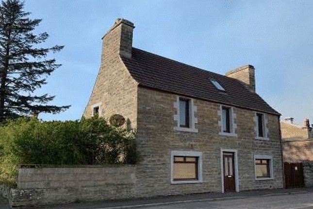 Thumbnail Detached house for sale in 9 Brabster Street, Thurso, Caithness