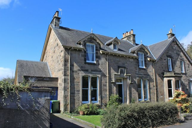 Thumbnail Semi-detached house for sale in Clarendon Place, Stirling