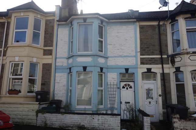 Thumbnail Terraced house for sale in Vicarage Road, Redfield, Bristol