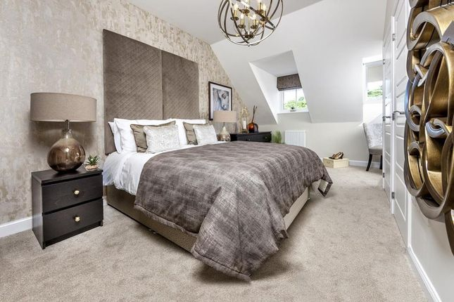 """Master Bedroom of """"Abingdon"""" at Cricket Field Grove, Crowthorne RG45"""