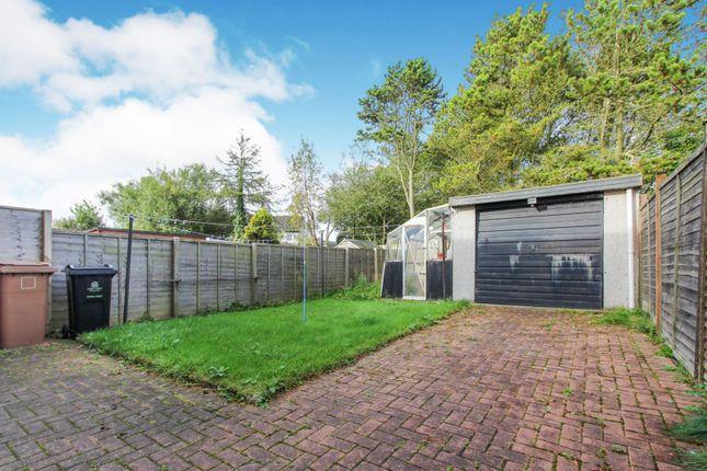 Rear Garden of Loirston Crescent, Aberdeen AB12