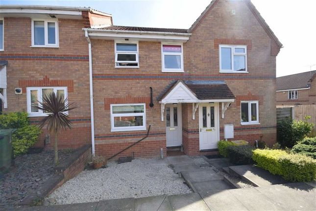Terraced house for sale in Newton Close, Belper