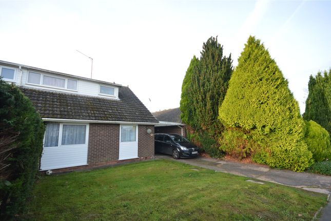 Thumbnail Semi-detached house to rent in Culvert Road, Stoke Canon, Exeter