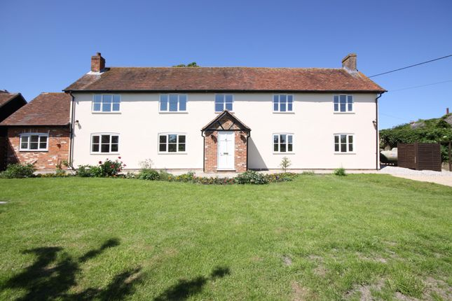 Thumbnail Detached house to rent in The Old Farmhouse, Shop Lane, Leckhampstead, Newbury, Berkshire