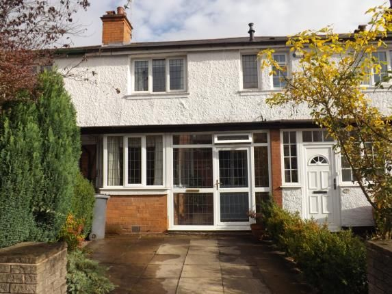 Thumbnail Terraced house for sale in Longmore Road, Shirley, Solihull, West Midlands