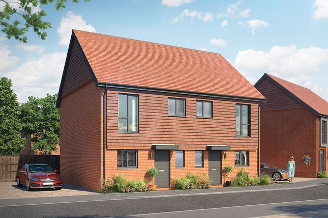 Thumbnail Semi-detached house for sale in Plot 1 - The Langley, Crowthrone