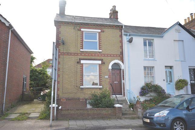 Thumbnail End terrace house to rent in Gosport Street, Lymington