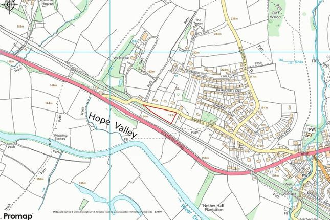 Thumbnail Land for sale in Donkey Lane, Folds Head, Calver, Hope Valley