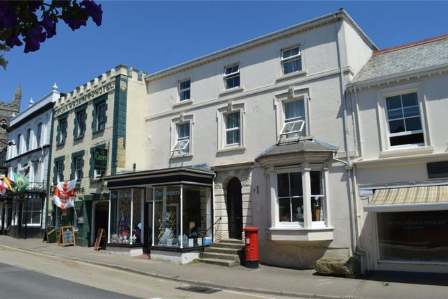 Thumbnail Commercial property for sale in Fore Street, Holsworthy, Devon