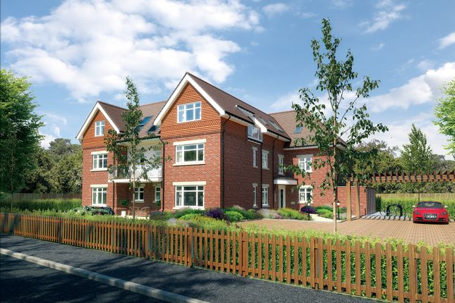 Thumbnail Flat for sale in Copse Road, New Milton