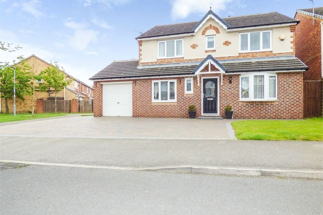 Thumbnail Detached house for sale in Balmoral Drive, Peterlee, Durham