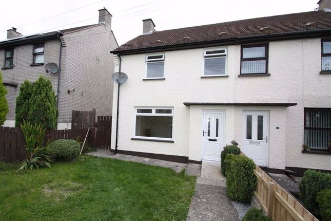 Thumbnail Semi-detached house to rent in Queens Park, Saintfield, Down