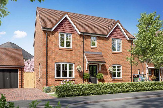 "Thumbnail Detached house for sale in ""The Leverton"" at Allington Lane, Fair Oak, Eastleigh"