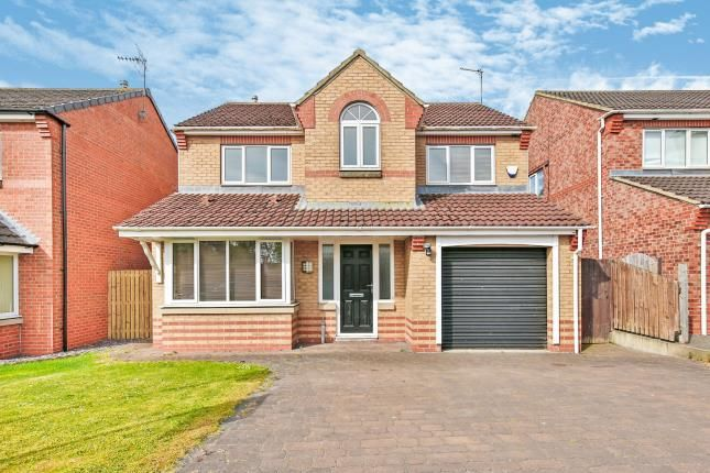 Thumbnail Detached house for sale in Manor Road, Willington, Crook, Durham