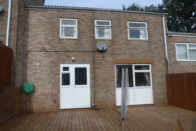 Thumbnail Terraced house for sale in Bowleaze, Greenmeadow, Cwmbran
