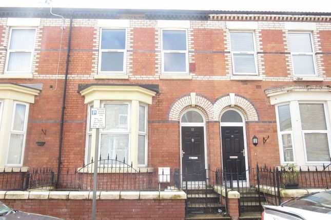 Thumbnail Terraced house to rent in Rockfield Road, Liverpool