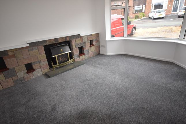 Semi-detached bungalow to rent in Beverley Crescent, Forsbrook, Stoke-On-Trent, Staffordshire