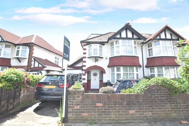 Thumbnail Semi-detached house for sale in Penwerris Avenue, Osterley, Isleworth