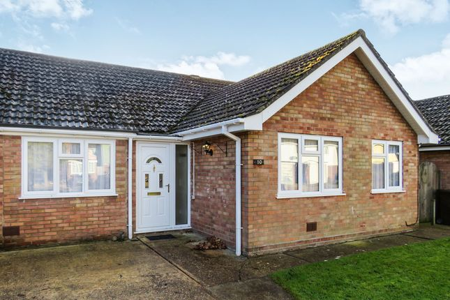 Thumbnail Semi-detached bungalow for sale in Sanderling Close, Mildenhall, Bury St. Edmunds