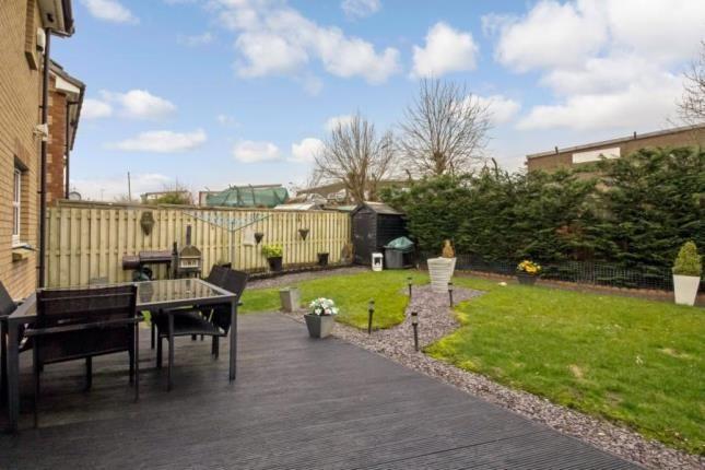 Rear Garden of Elder Crescent, Cambuslang, Glasgow, South Lanarkshire G72