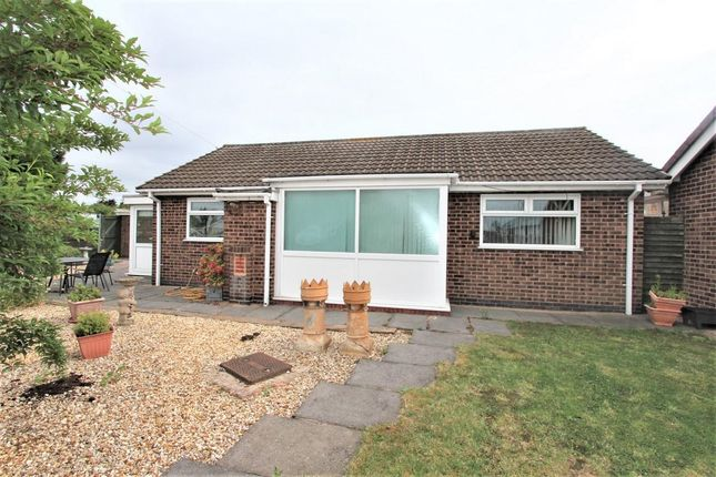 Thumbnail Detached bungalow for sale in Stancliff Road, Leicester