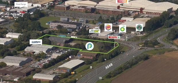 Thumbnail Light industrial to let in Site One, Zone Two, Parkway, Deeside Industrial Park, Deeside, Flintshire